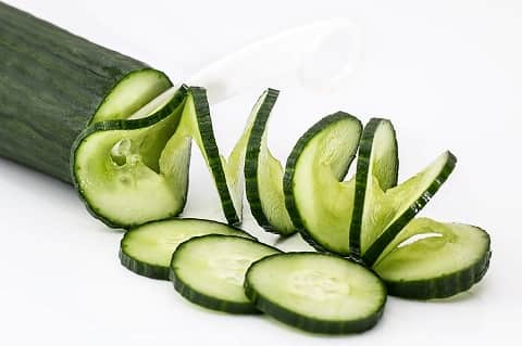 Cucumber Home Remedy for Pimple Marks