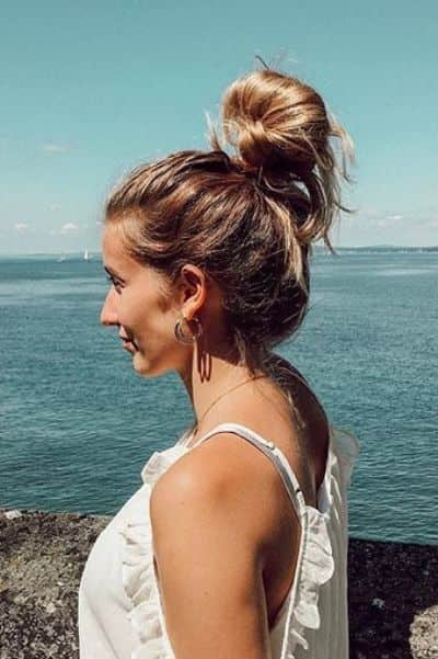 Fine Top Knot Updo