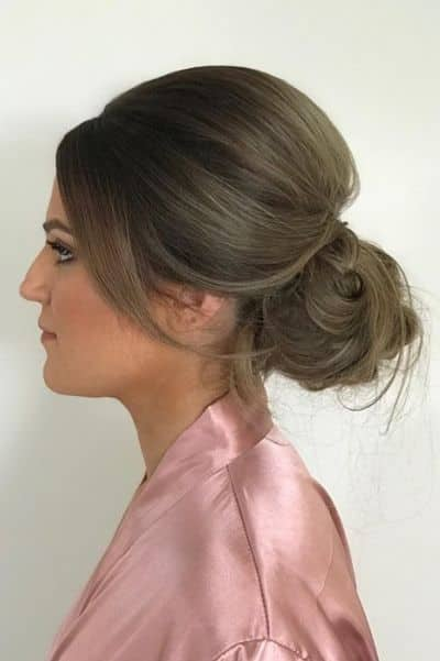 Messy Two Minute Updo