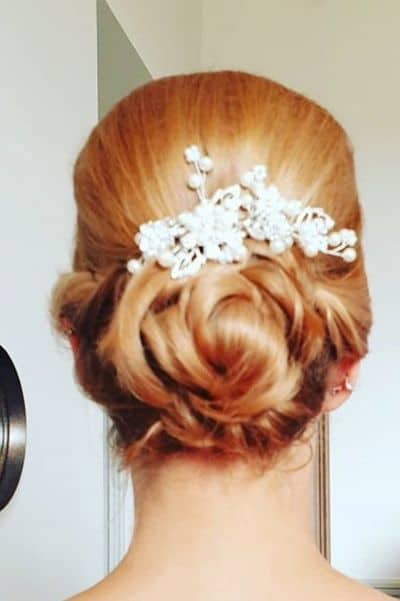 Angelic Low Crowned Donut Bun