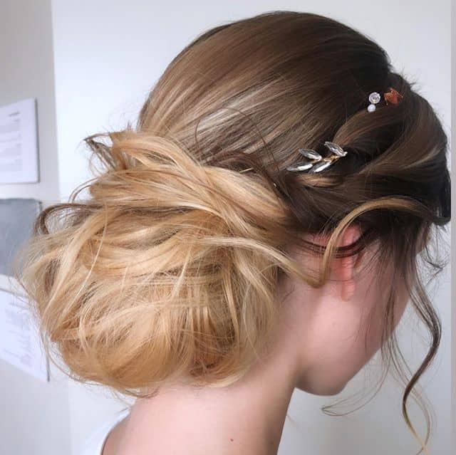 Low Sock Angelic Updo
