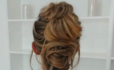Messy Bun Hairstyles and Updos Cover